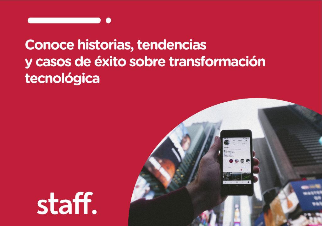 Pop up Conoce historias y casos de éxito sobre transformación tecnológica